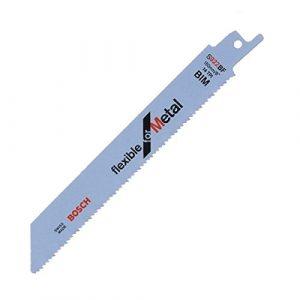 Bosch Professional Zubehör Reciprosägeblätter Metall S922BF 5 Stück, 2608656014