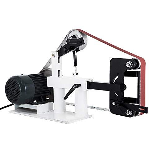 Morffa 50mmx2082mm Schleifer Bandschleifer 3 In 1 Bandschleifer 1500W 2HP Multifunktions Schleifautomat Variabler Geschwindigkeit