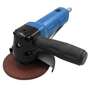 Fesjoy Winkelpolierer, Poliermaschine Leichter 4 Zoll Luftwinkelschleifer Poliermaschine Luftschleifer