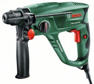 Bosch Bohrhammer PBH 2500 RE (SDS Bohrfutter, Tiefenanschlag, Zusatzhandgriff, Koffer (600 W, Bohr-Ø Beton 22 mm))