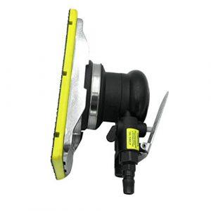 Homyl Druckluft Exzenterschleifer Schleifmaschine Multischleifer, 12000 U/min / 10000 U/min – 90x180mm