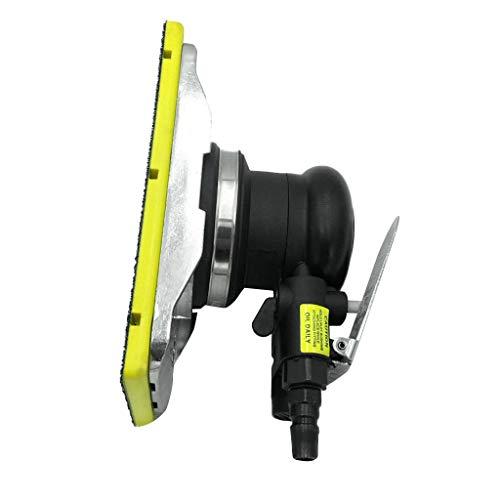 Homyl Druckluft Exzenterschleifer Schleifmaschine Multischleifer, 12000 U/min / 10000 U/min - 90x180mm