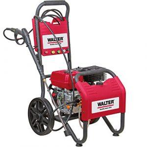 WALTER Werkzeuge AGW-180E Benzin-Hochdruckreiniger Rot/schwarz