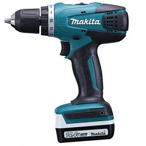 Makita DF347DWE Schraubenzieher 14.4 W, 14.4 V, Schwarz, Blau