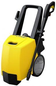 Hochdruckreiniger Advanced 1108   Warmwasser-Hochdruckreiniger 145 bar Arbeitsdruck   inkl. verschiedener Zubehöraufsätze   Lieferleistung 450 l/h   mit Rollen, Edelstahlheizspirale   Befeuerung mit Diesel