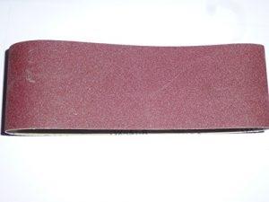 25 Stk. Gewebe-Schleifbänder 100×610 mm für Bandschleifer Mix Korn K40/60/80/120/180 Schleifband