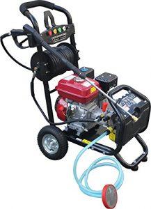 Dealourus Benzin-Hochdruckreiniger – 8,0 PS 3950 psi Awesome Power T-MAX PRO 20 Meter Schlauch 5 Bonus Druckdüsen Plus gratis Turbo Düsensprüher