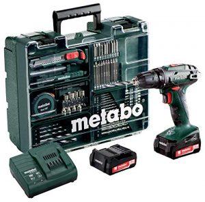 Metabo 60220688 14,4 Set Workshop 74 Acc BS 14.4 Mobile Werkstatt 2,0 Ah, 10 mm, SC 60 Plus, 14.4 V