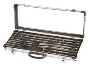 Einhell SDS-plus Bohrer- und Meissel Set passend für Bohrhammer (12-teilig)