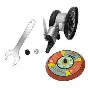 FLAMEER Multifunktional Druckluftschleifer Exzenterschleifer Polierer Zufällige Vibrator Zubehör Set – 5 Zoll Standard