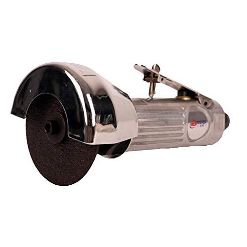 kesoto Mini Luft Winkelschleifer 90° Pneumatische Polierschleifmaschine Exzenterschleifer mit Schutzplatte, 20000rpm