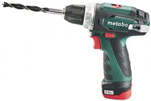 Metabo 600080500 PowerMaxx BS Basic Akku-Bohrschrauber, 10.8 V