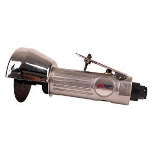 H HILABEE Mini Druckluft Exzenterschleifer mit 78mm Schleifteller und Schutzplatte