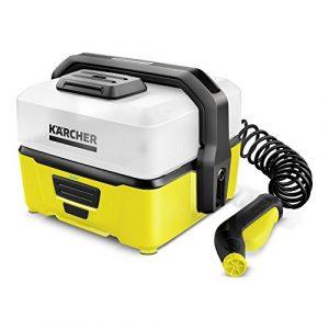 Kärcher Mobile Outdoor Cleaner OC 3 (Wassertankvolumen: 4 l, Lithium-Ionen-Akku, abnehmbarer Wassertank, schonender Niederdruck)