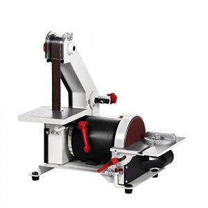 BuoQua Belt/Disc-Type Sander 300w Tellerschleifer 1″ x 30″ Bandschleifmaschine Grinder Sander Disc Sander 2950 rpm Schleifmaschinen (300w)