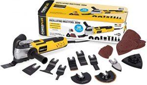 Powerplus Multifunktionsgerät 300 W Schleifmaschine Handschleifer Deltaschleifer